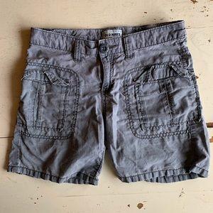 Old Navy :: grey cargo shorts
